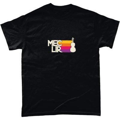 Black Fiddle Design T-Shirt