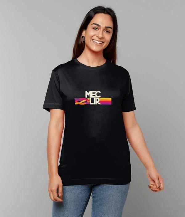 Black Knot Design T-Shirt Female