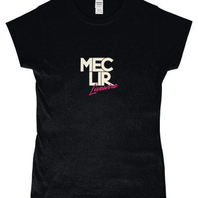 Ladies Black Livewire T-Shirt