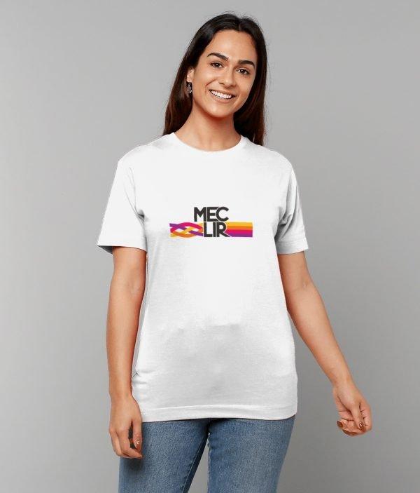 White Knot Design T-Shirt Female